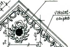 bejárat részletrajza