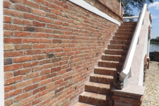 külső lépcső
