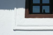 vakolatkeret ablak körül